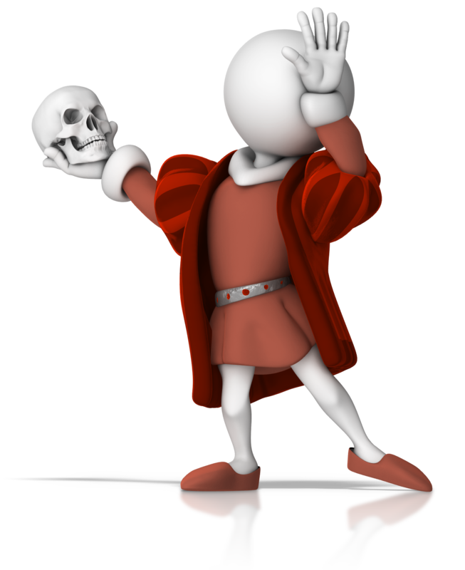 Stick figure shakespeare with. Actor clipart actor shakespearean