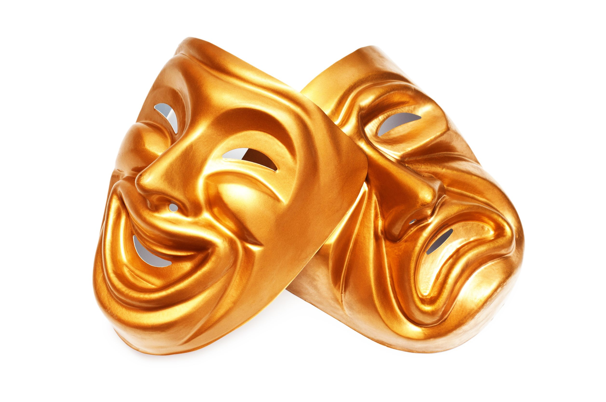Drama mask theatre masks. Actor clipart background