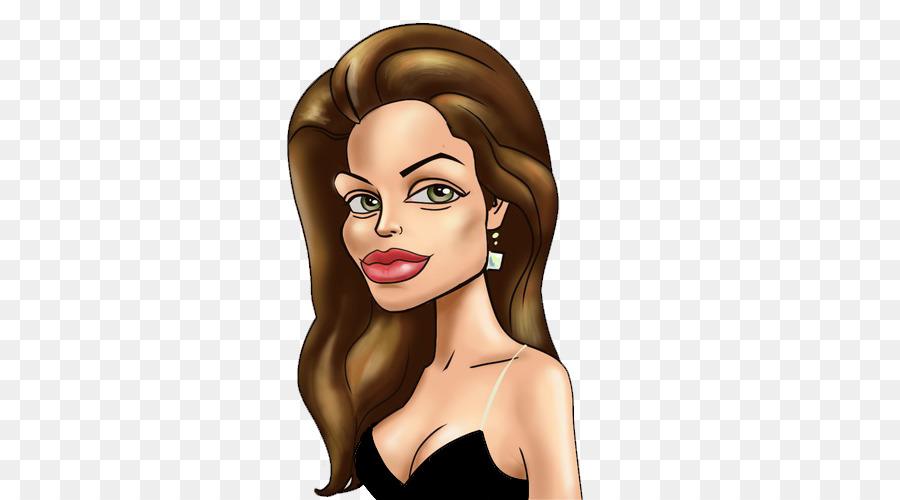 Angelina jolie cartoon clip. Actor clipart celebrity