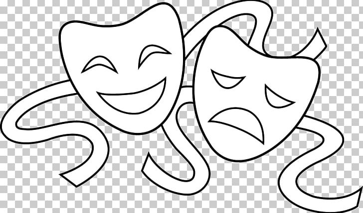 Theatre mask png angle. Actor clipart drama performance