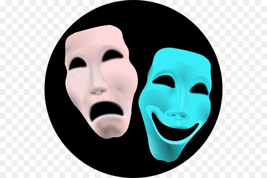Actor clipart female actor. Theatre mask drama clip