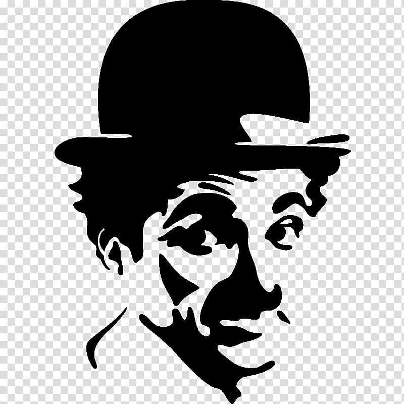 Actor clipart film actor. The tramp painting high