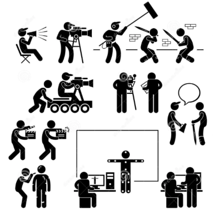 Making courses in chennai. Actor clipart film editor