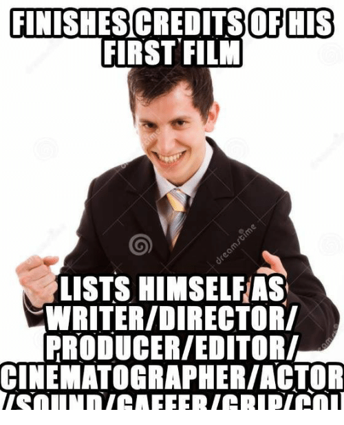 Actor clipart film editor. Finishesicreditsofmis first lists himselfias
