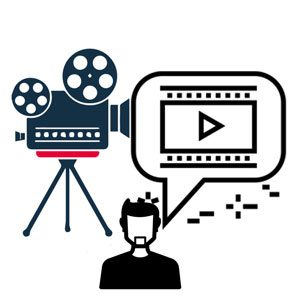 Actor clipart film editor. Video production acting presenting