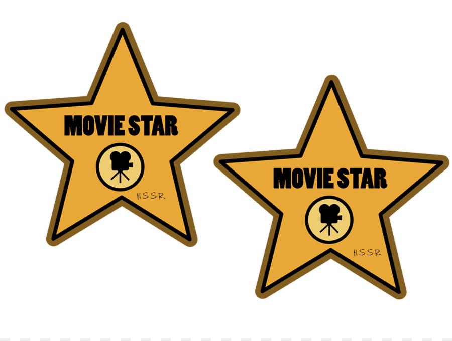 Hollywood film clip art. Actor clipart movie star