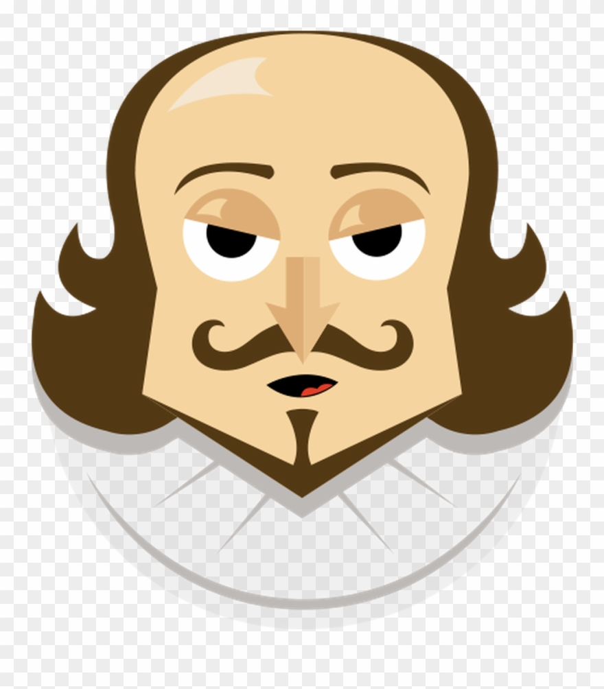 Actor clipart plays shakespeare. Emoji png download