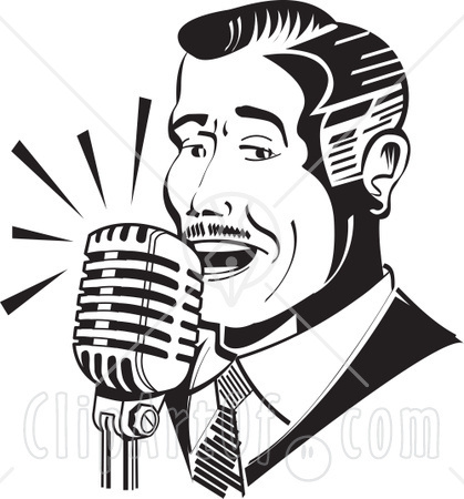 Actor clipart radio. A t chandler voice