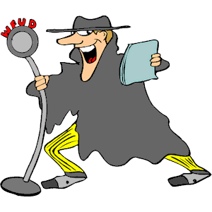 Cliparts of free . Actor clipart radio