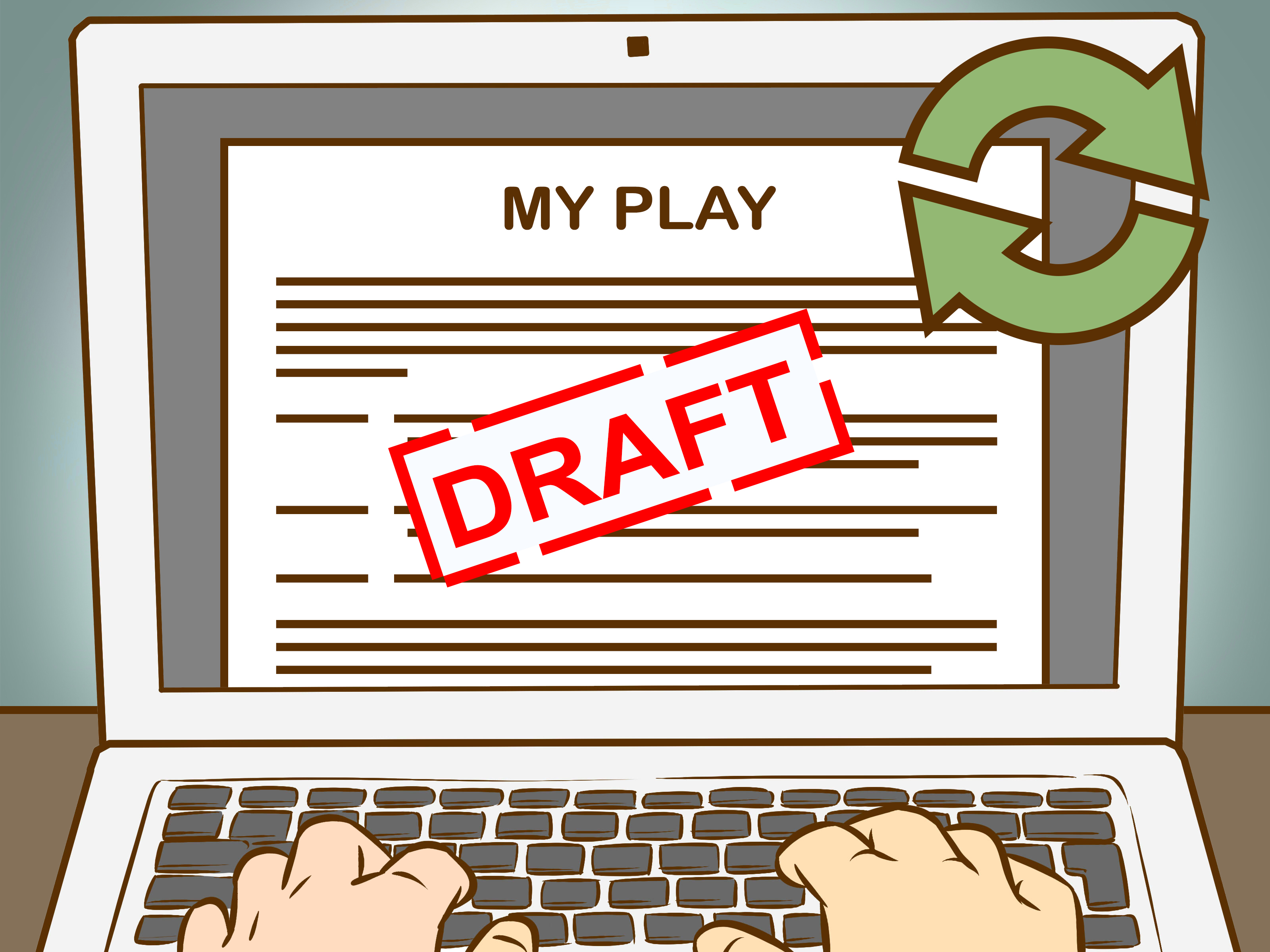 How to write a. Actor clipart stage direction