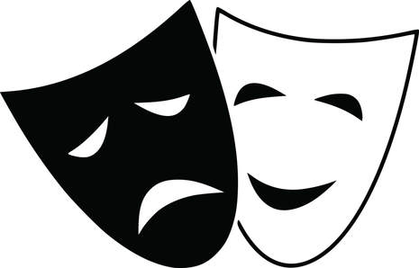 Actor clipart theatre actor. Young actors stage home