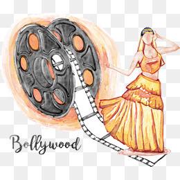Actor clipart vector. Bollywood png vectors psd