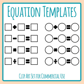 Addition clipart addition equation. Templates subtraction multiplication and
