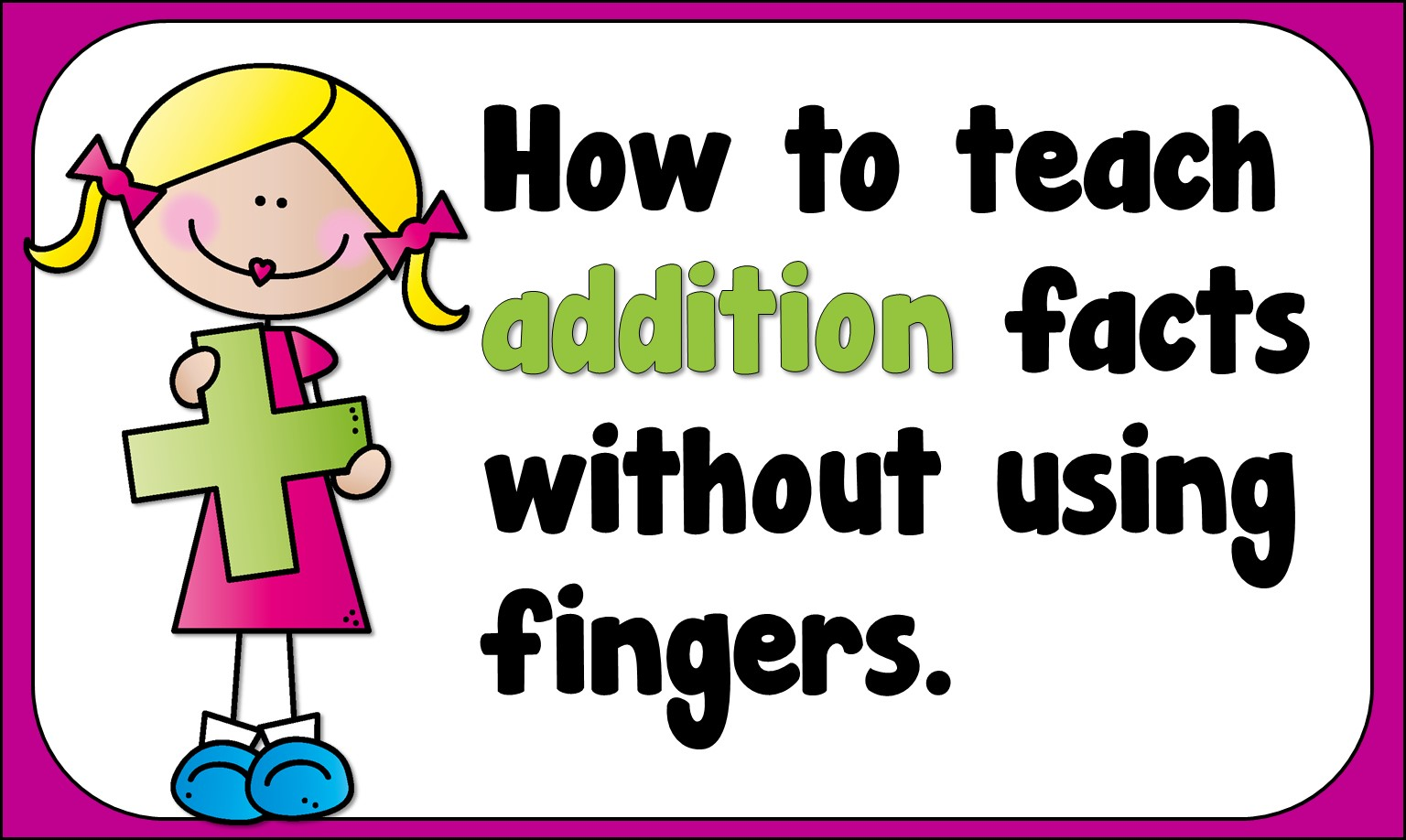 Teacher s take out. Addition clipart addition fact