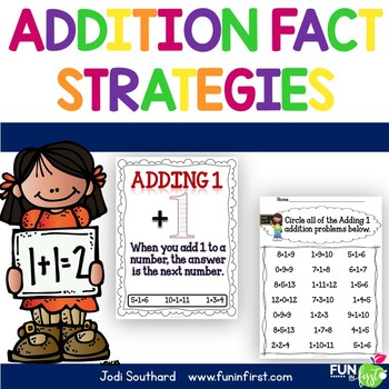 Addition clipart addition fact. Strategies and practice