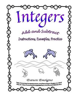 Addition clipart addition integer. Worksheet add and subtract