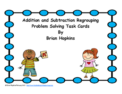 Addition clipart addition problem. And subtraction regrouping word