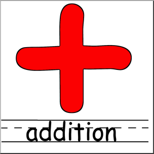 Clip art math symbols. Addition clipart addition symbol