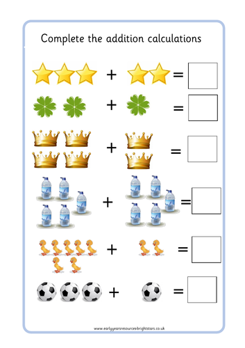 Picture by brightstarseyr teaching. Addition clipart addition worksheet