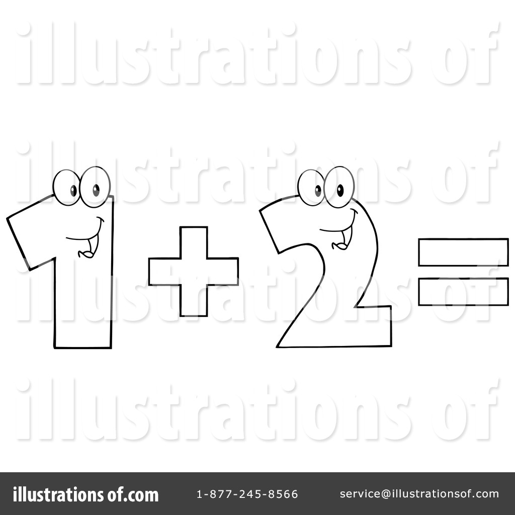 Illustration by hit toon. Addition clipart additon