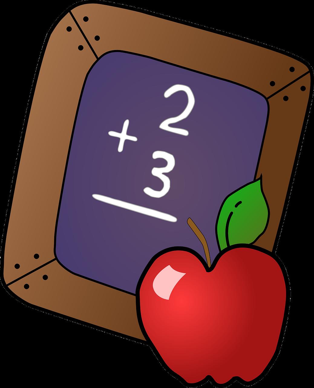 Addition clipart additon. Icse maths class animation