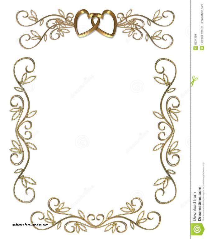 Wedding invitation design incep. Anniversary clipart border