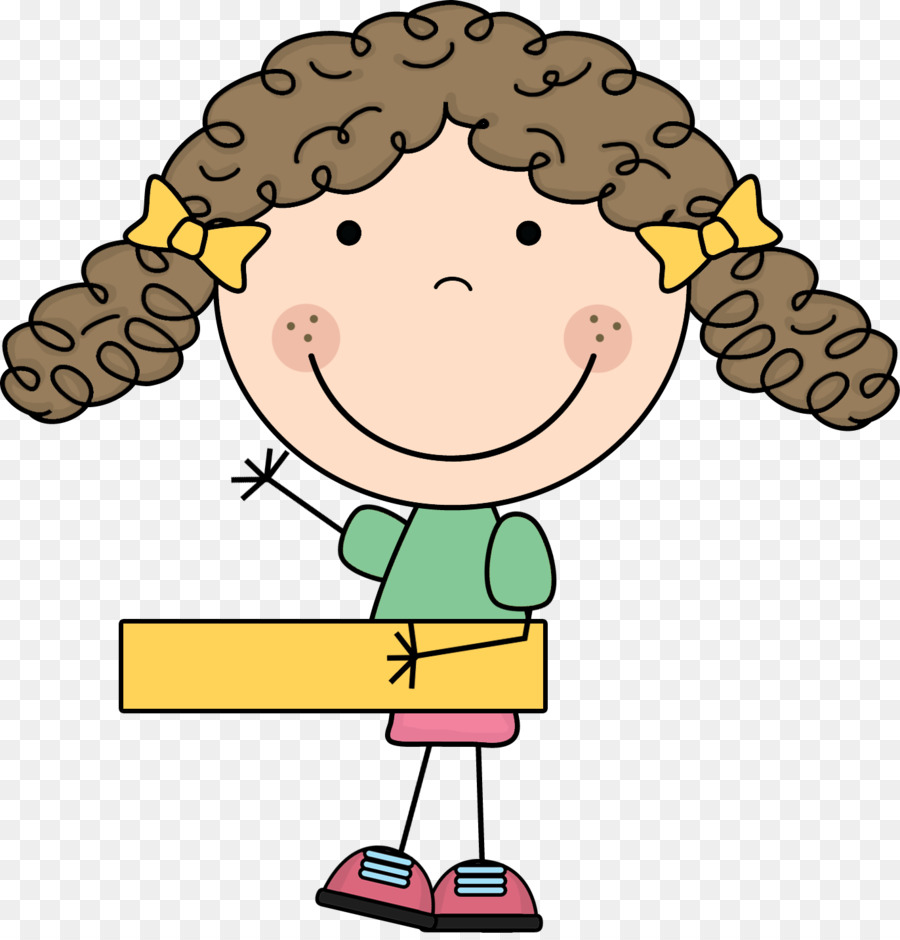 Cartoon number yellow nose. Addition clipart boy