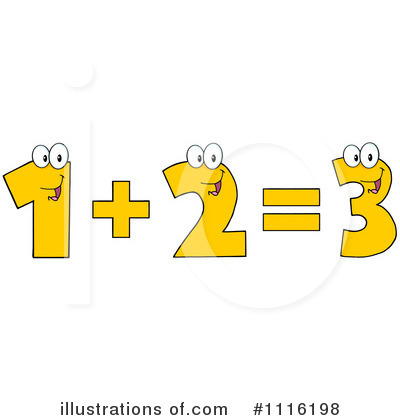 Illustration by hit toon. Addition clipart cartoon