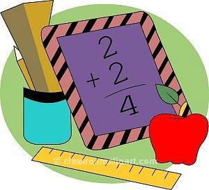 Addition clipart clip art. Math homework paper panda