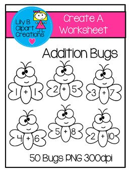 Addition clipart cute. Create your own worksheets