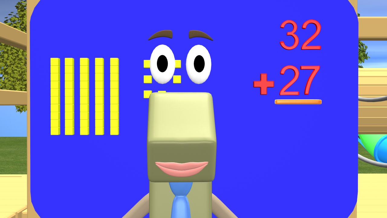Addition clipart easy math. Double digit with regrouping
