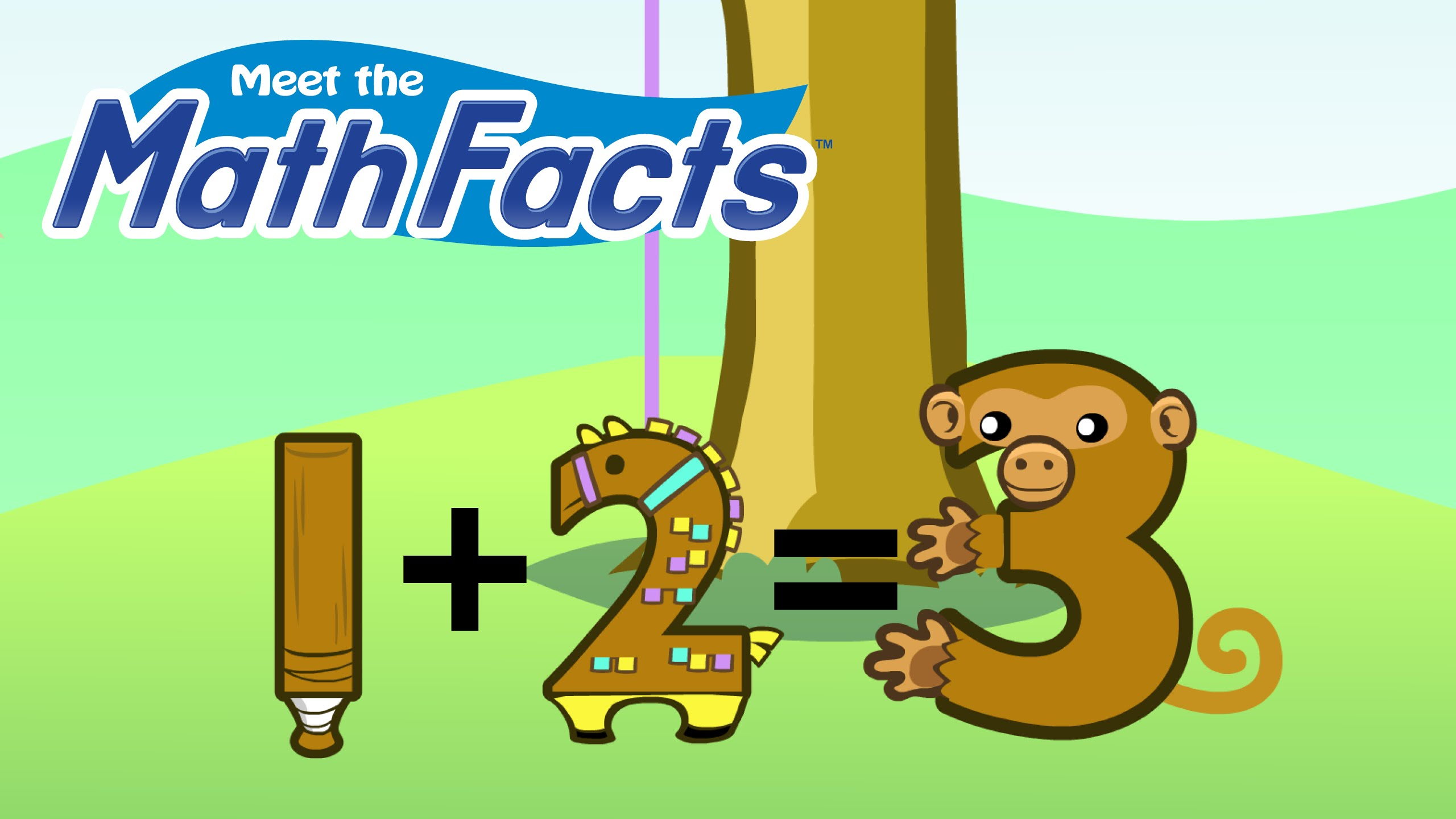 Addition clipart easy math. Meet the facts level
