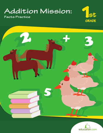Addition clipart elementary math.  st grade two