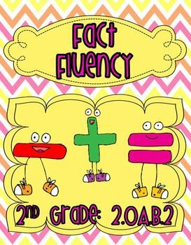 Addition clipart fact fluency. And subtraction nd grade
