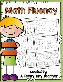 Addition clipart fact fluency. Math assessments by a