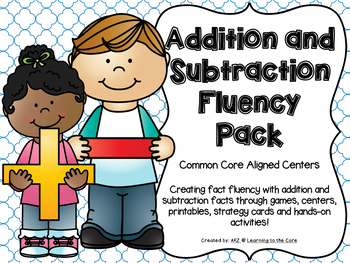 And subtraction math centers. Addition clipart fact fluency