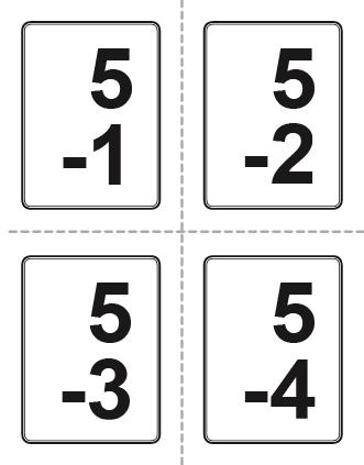 Addition clipart flashcard. Flash cards