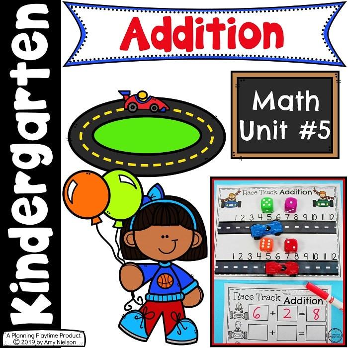 . Addition clipart kindergarten math