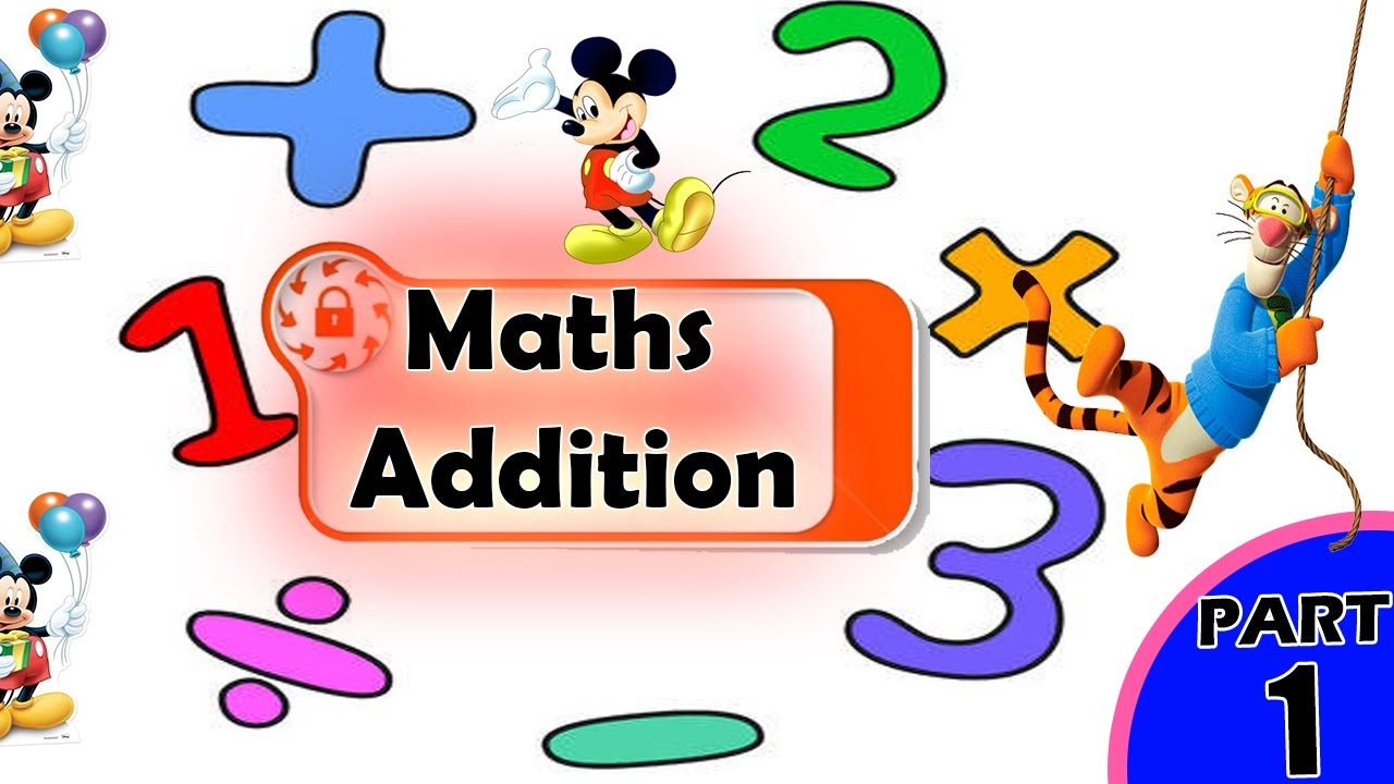 Addition clipart math addition. For kids adding numbers