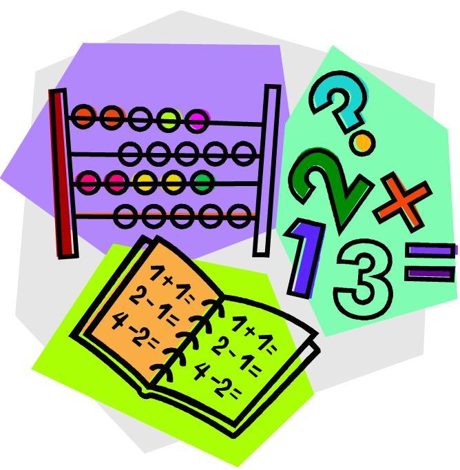 Elementary clip art panda. Math clipart