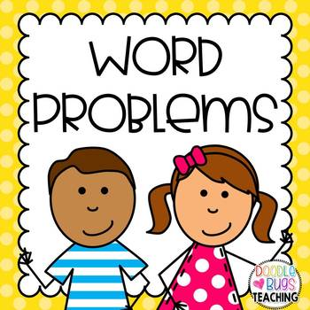 Addition clipart math word problem. Daily story problems kindergarten