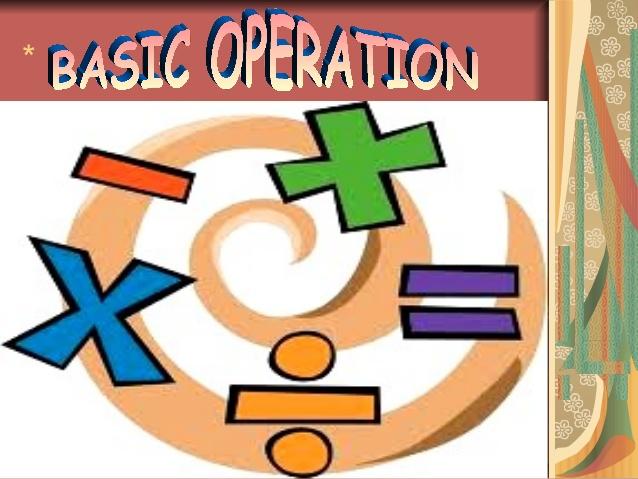 Addition clipart mathematical operation. Basic operations in mathematics