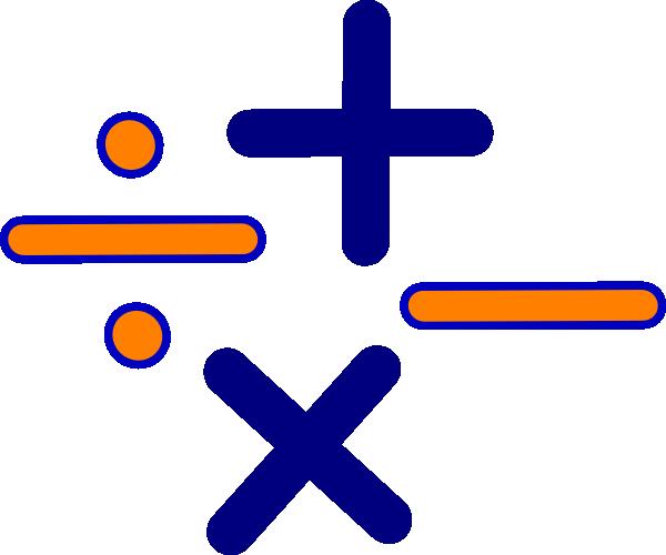 Addition clipart mathematical operation. Free math symbols cliparts