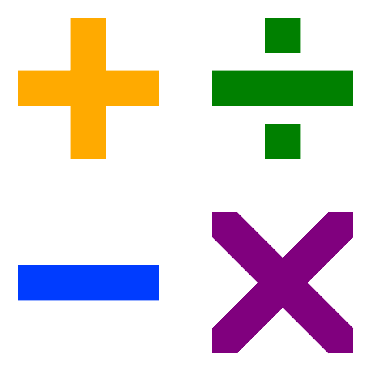 Elementary arithmetic wikipedia . Clipart numbers numeracy