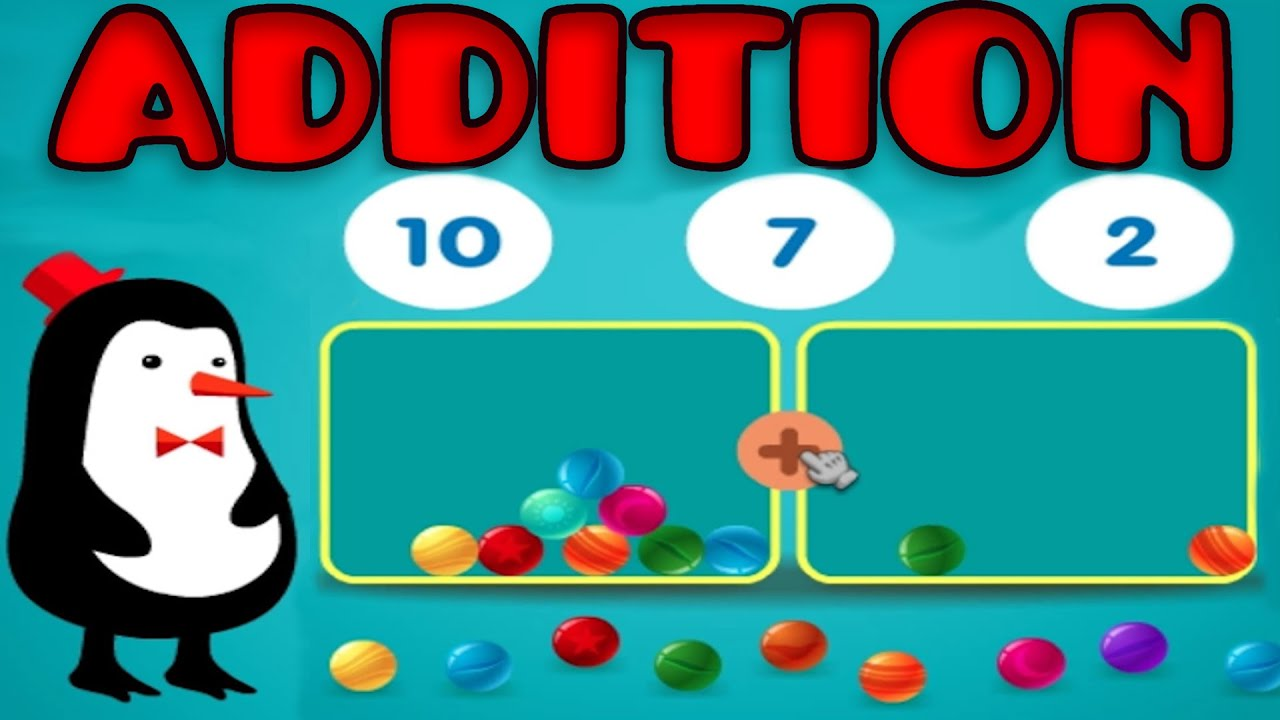 With manipulatives basic counting. Addition clipart preschool math