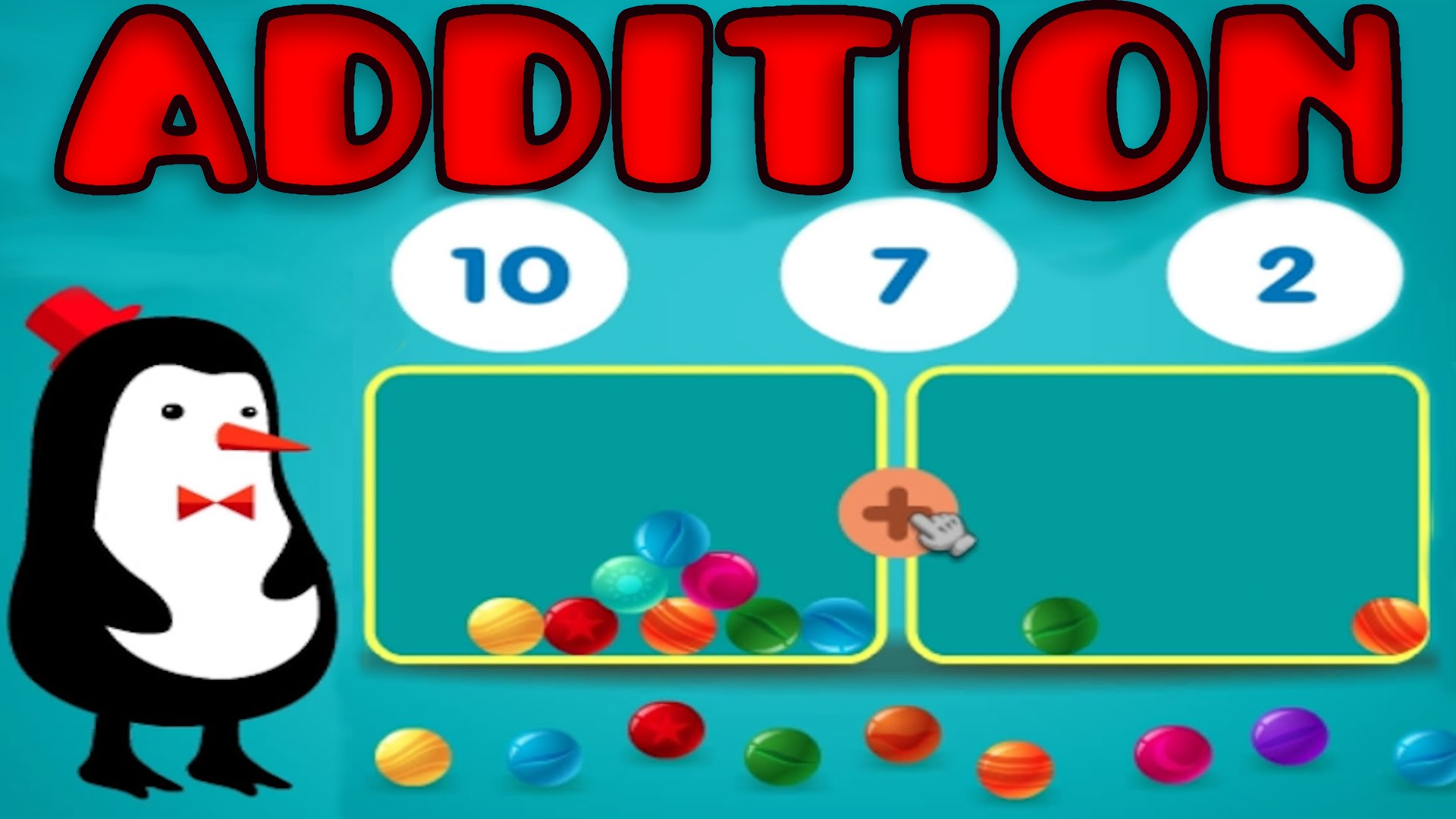 Addition clipart preschool math. With manipulatives basic counting