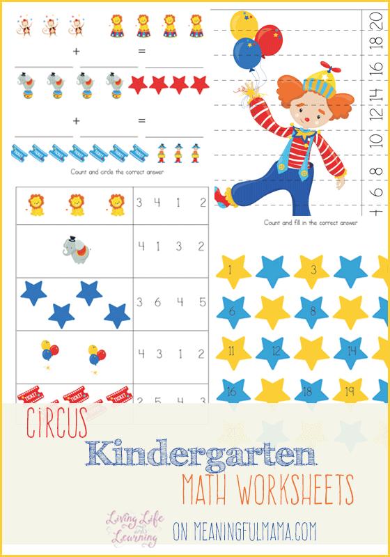 Addition clipart preschool math. Circus kindergarten worksheets these