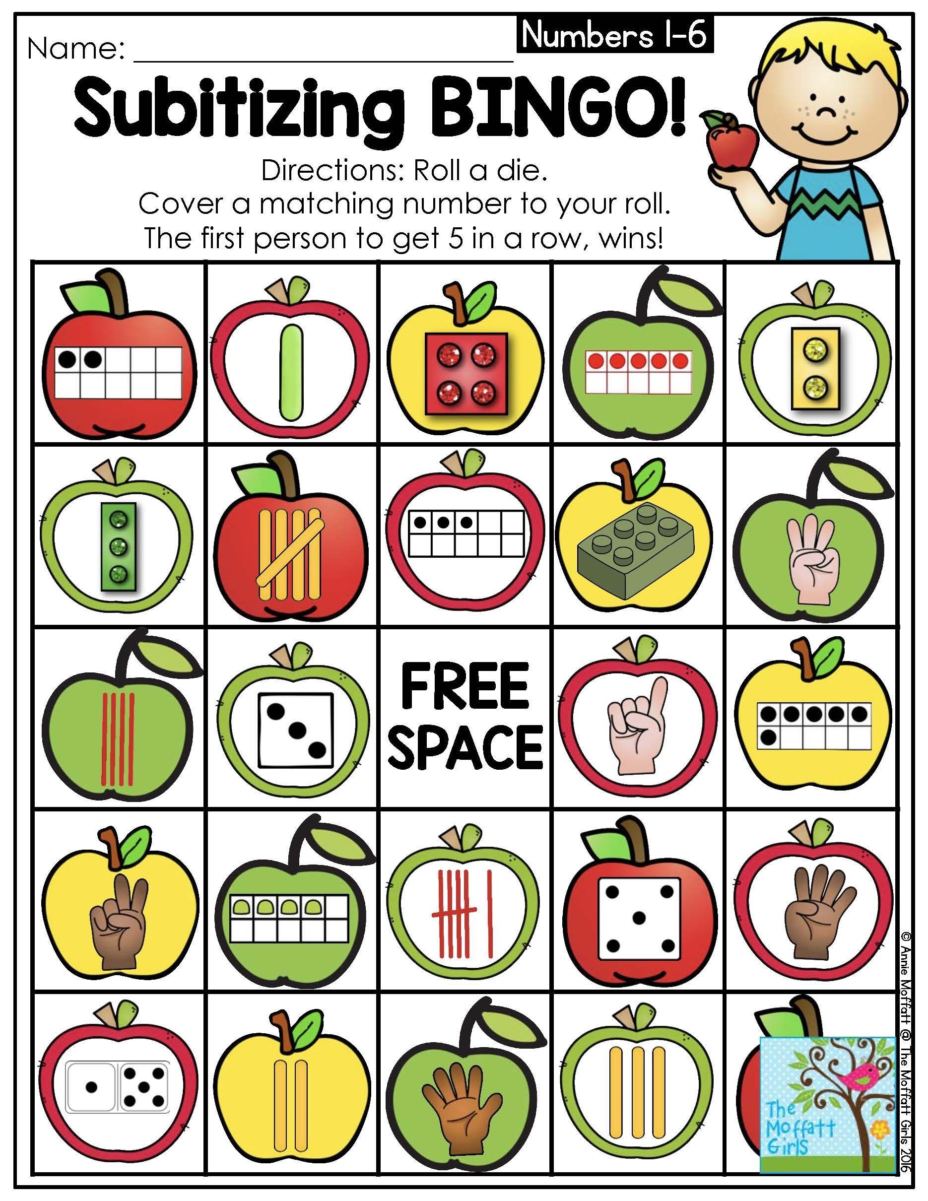 What is subitizing and. Addition clipart preschool math
