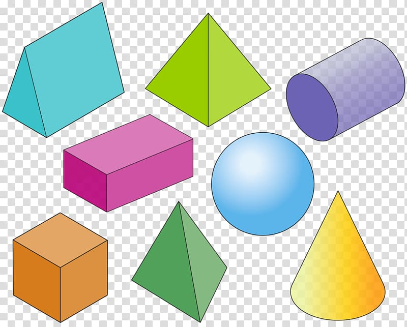Assorted color and shapes. Addition clipart shape