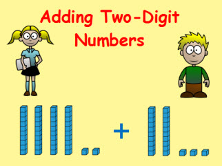 Addition clipart two digit addition. Adding numbers